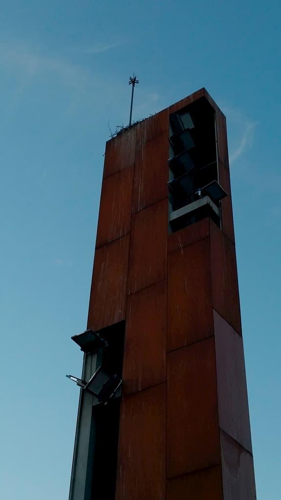 torre entrada al recinto ferial calatayud